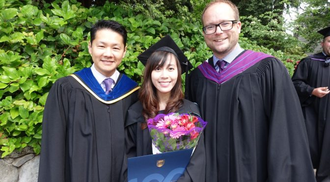 Congratulations to Joey Lo – the stone centre's very own – for completing her masters!