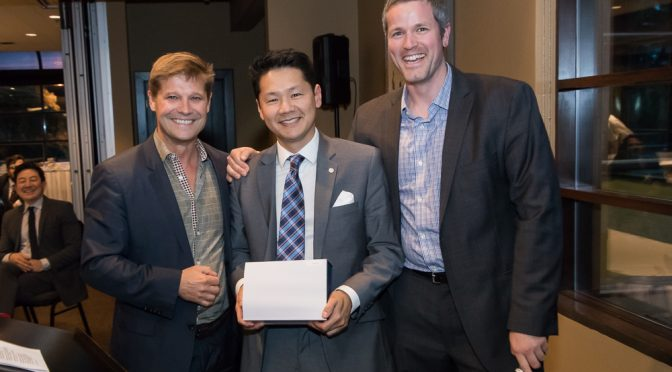 Congratulations to Dr. Ben Chew for receiving the Department of Urologic Sciences Undergraduate Teacher of the Year